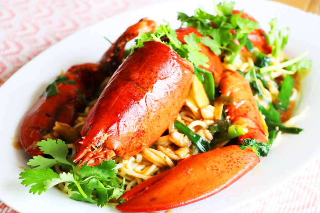 Longevity Lobster Noodles & Happy New Year! - Best Asian Recipes with CiCi Li - CiCiLi.tv