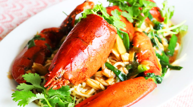 Longevity Lobster Noodles & Happy New Year!