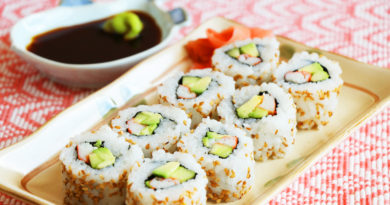 How to Make California Sushi Rolls at Home?