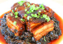 Pork Belly with Preserved Mustard Greens & Happy Chinese New Year
