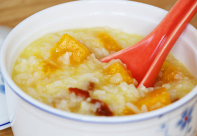 Pumpkin Rice Porridge to Prevent Stretch Marks During Pregnancy
