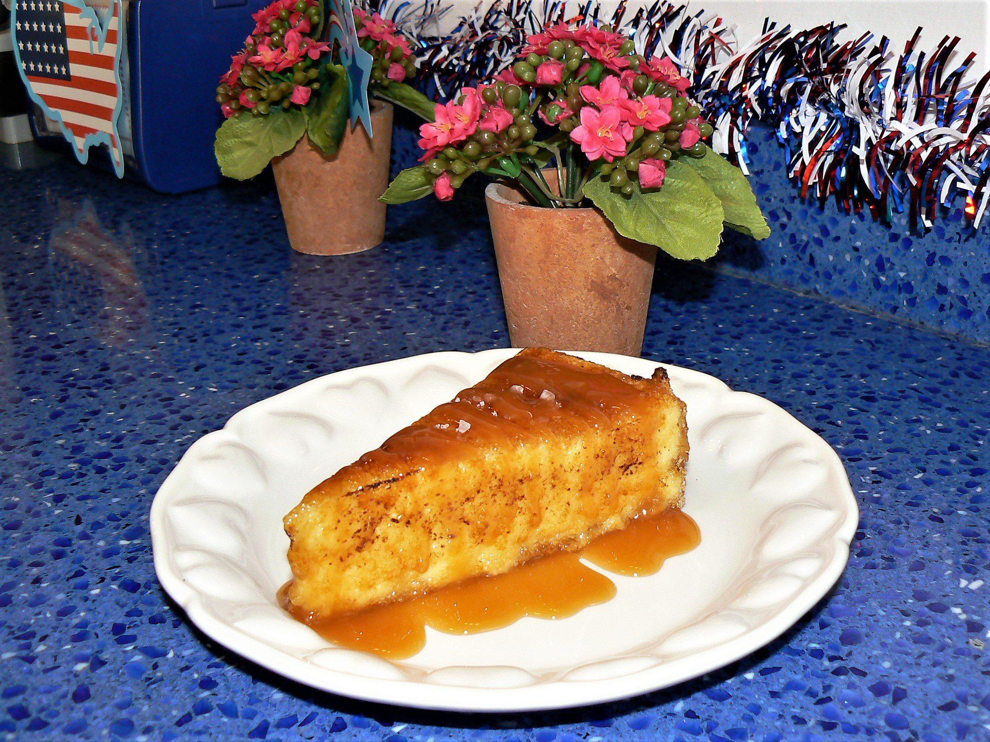 Salted Caramel--Cheesecake