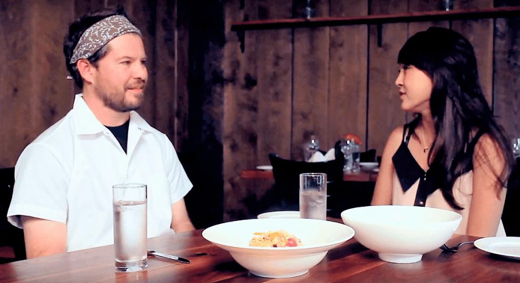 CiCi Li and James Wayman, Executive Chef at Oyster Club Restaurant