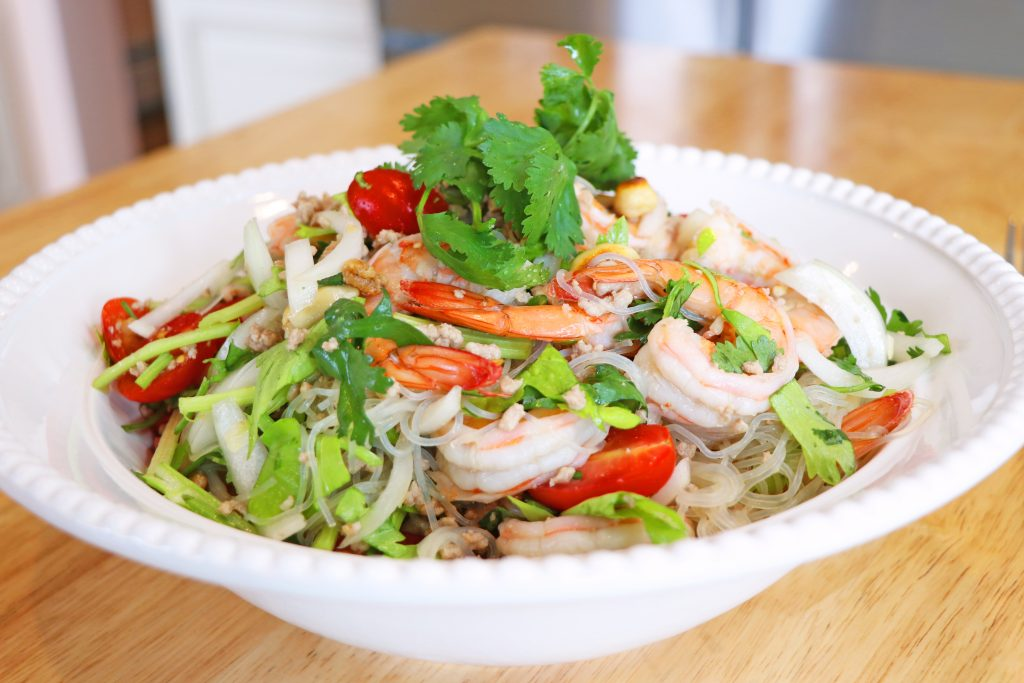 Cicili Tv Thai Glass Noodle Salad Recipe Yum Woon Sen
