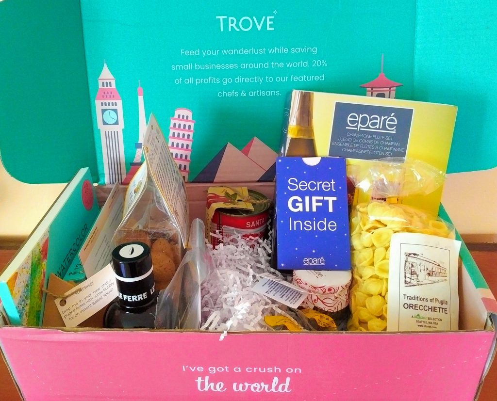 Unsponsored Trove Subscription Box Review-Brandscovery.com