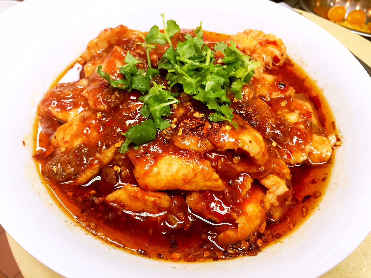 The Most Famous Sichuan Spicy Boiled Fish Recipe