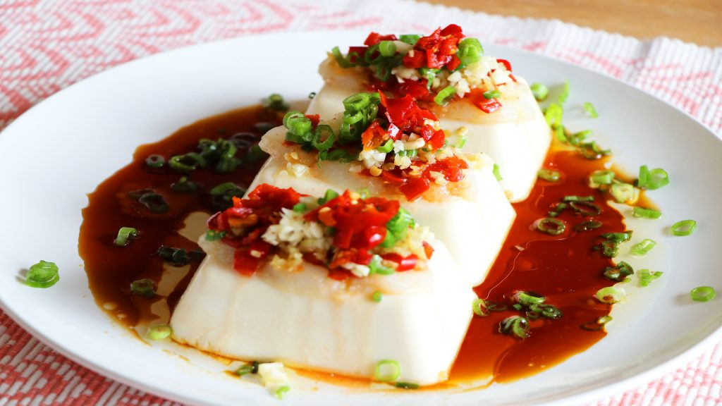 Tofu Steamed Fish Recipe