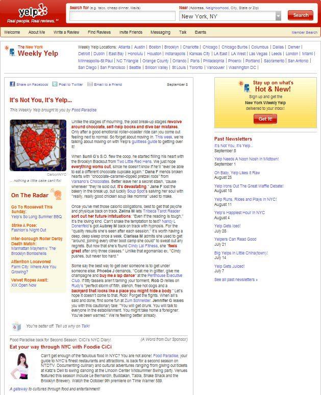Yelp_newsletter