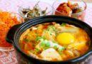 Korean Kimchi Soft Tofu Stew